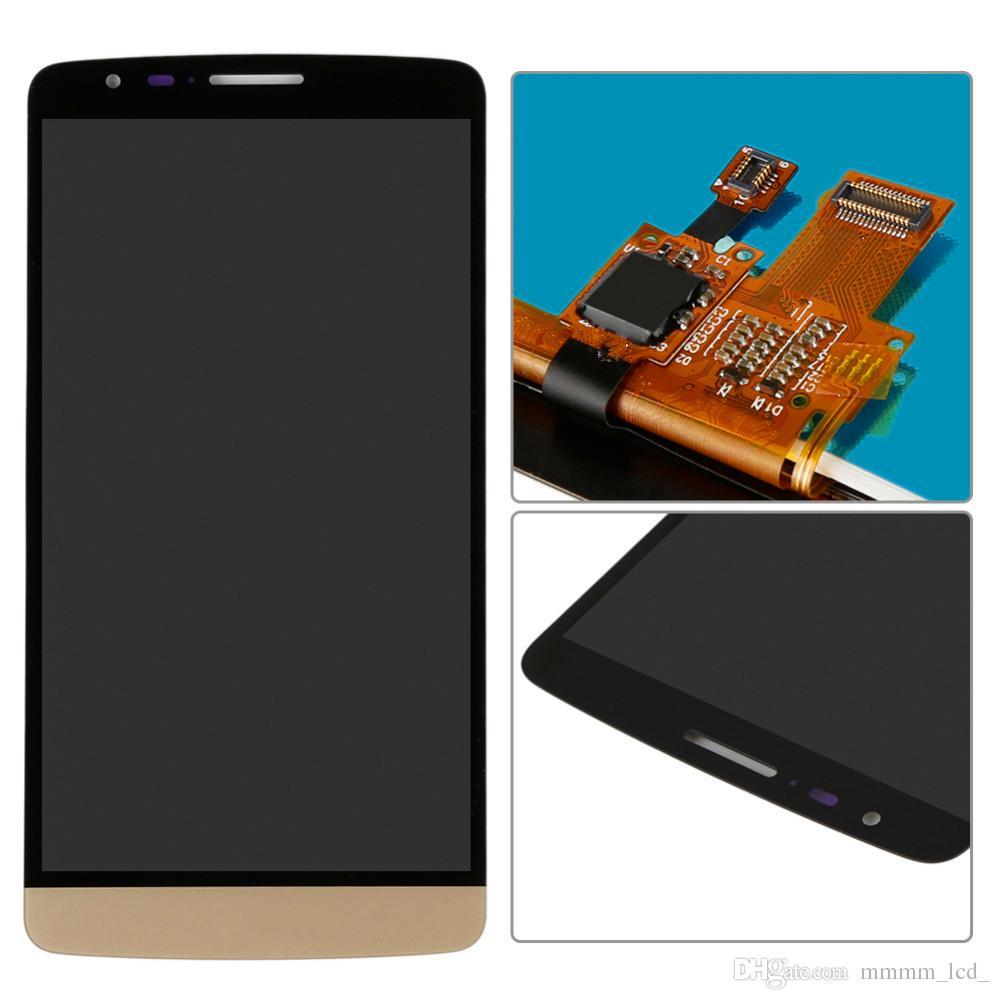 100% original para lg g3 lcd d850 d851 d855 display lcd com tela de toque digitador assembléia