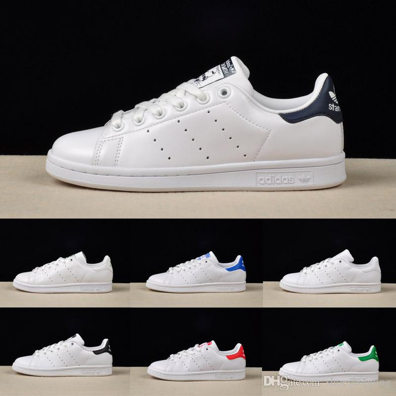 High Quality Stan Smith Running Shoes Spring Copper White Pink Black  Fashion Shoe Man Casual Leather Brand Woman Man Shoes Flats Sneakers Best Running  Shoes ... 78bd1efd2
