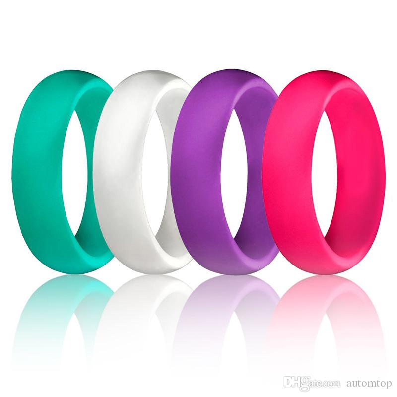 Silicone Wedding Ring Sets