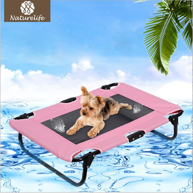 Summer Outdoor Dog Bed Breathable Dog Kennel Portable Cool House