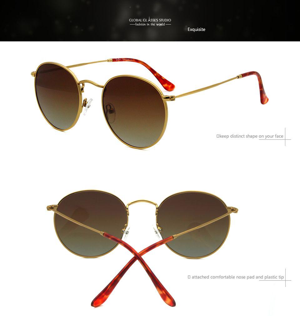 Adolescente Retro De Pequeñas Y Lente Lens Mujeres Polaroid Hombres Eyewear Classic Sol Rx Cara Gafas Caben Round Pequeña Availble Rft7001 Metal bgY7fI6yv