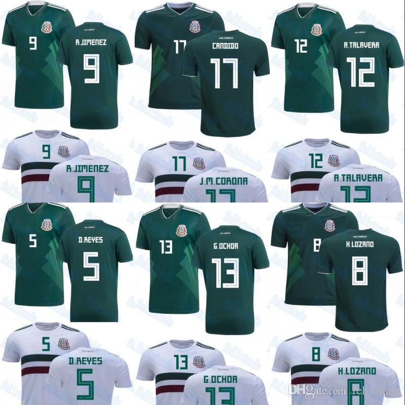 thailand quanlity mexico 2018 world cup raul jimenez alfredo talavera diego reyes guillermo ochoa hi