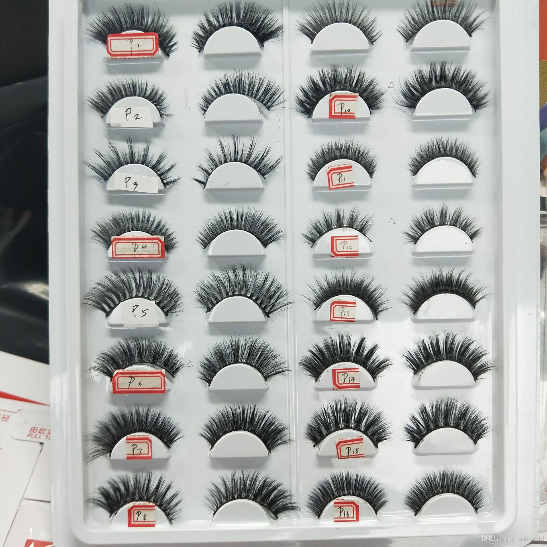 Seashine lollipop emballage cils de soie étiquettes du client sont disponibles en matière synthétique de haute qualité cils livraison gratuite