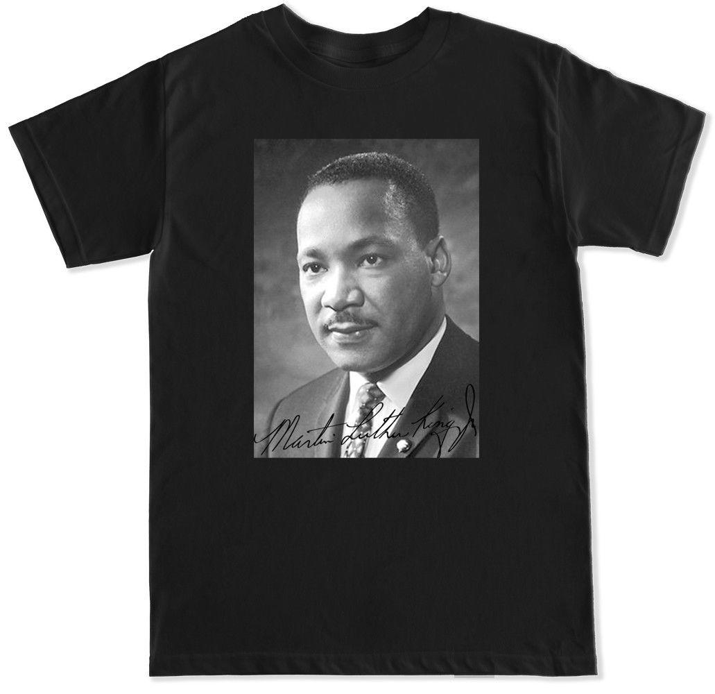 Martin Luther King Jr Signature I Have A Dream T Shirt Unisex Funny