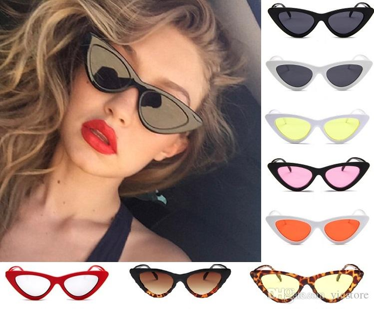 a9437e05ebe Cat Eye Sunglasses Womens Fashion Vintage Retro Cat Eye Triangle Sunglasses  UV400 Eyewear Glasses Outdoor Eyewear Custom Sunglasses Heart Shaped  Sunglasses ...