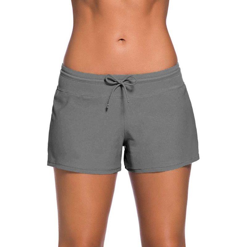854db1ae70 Women Swimming 2018 NEW Free Shipping Trunks Bottom Sexy Low Waist Shorts  Swimwear Briefs Female Swim Pants 9 colors optional