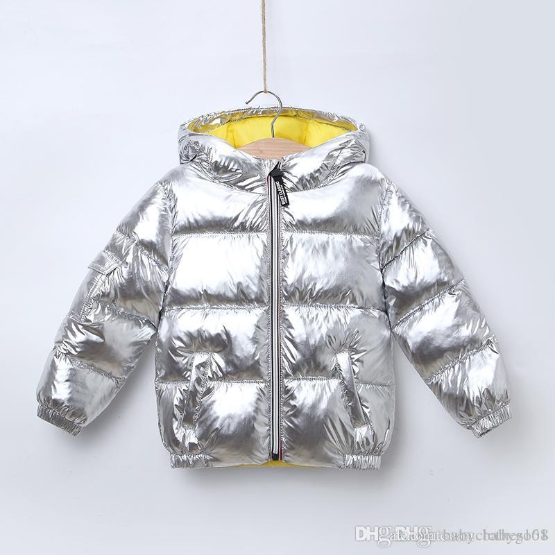 744018b90520 2019 New Arrival Children Winter Jacket for Girls Boys Hooded Warm ...