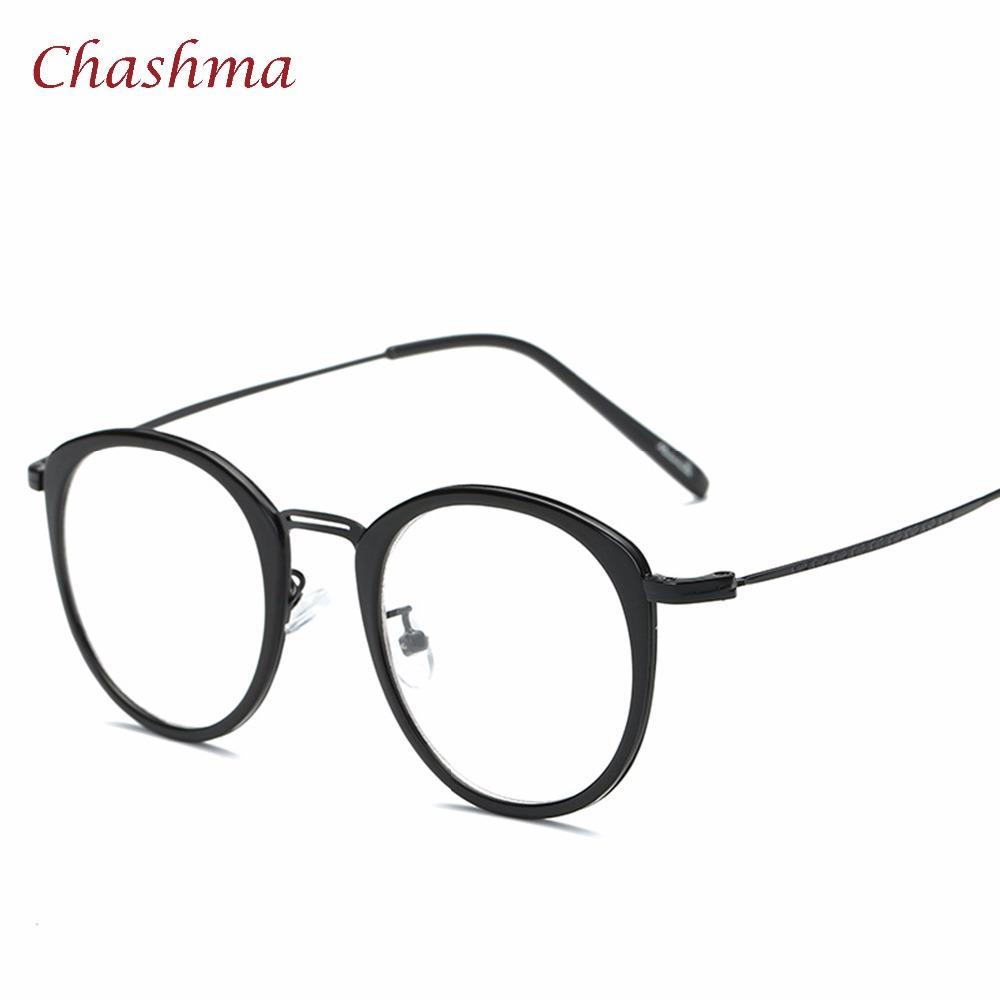 Compre Chashma Marca TR 90 Rodada Vidros Ópticos Óculos De Armação Miopia  Oculos De Grau Feminino Lunette De Vue Femme De Xiamenwatch,  28.44    Pt.Dhgate. 57adab8923