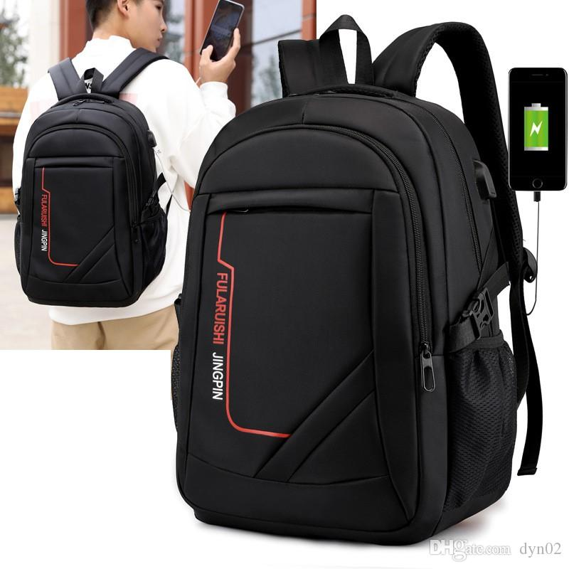 New Oxford Smart Backpack Travel Backpack For Men With Large Capacity  Business Laptop With Usb Port Customized Rucksack Purses From Dyn02