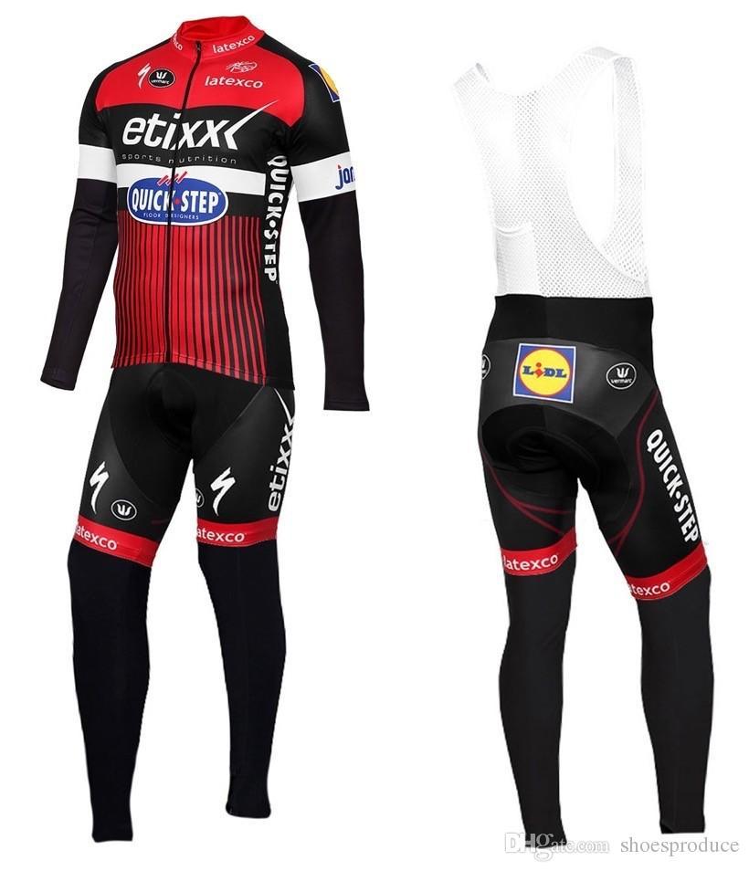 Winter Thermal Fleece Etixx-Quick Step Long Sleeve Cycling Jersey ... 79bfad64d