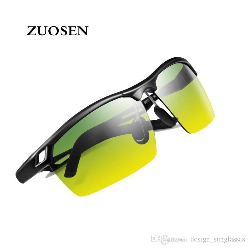 142147f5f8 ZUOSEN 2018 New Fashion Sunglasses Brand Designer Sun Glasses Mens ...