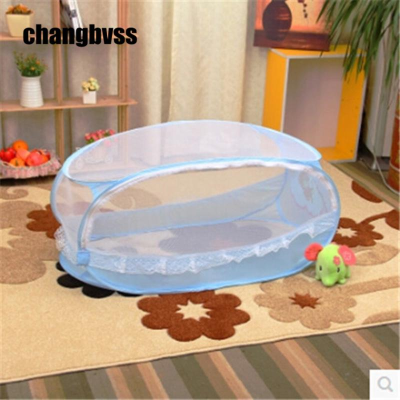 64ae5a2be3774 Cuna Portatil Infant Baby Crib Cot Mosquito Nets Beds Fly Insect Folding  Netting Mesh Child Portable Safety Good Quality Train Crib Bedding Crib  Sets ...
