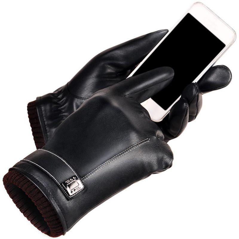 5849c3ceb8cde 2019 2017 Warm Winter Men Women Gloves Washed Leather Black Leather Gloves  Male Winter Men From Value222, $23.98   DHgate.Com