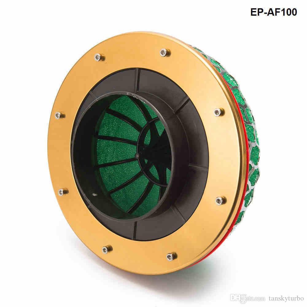 Tansky  - ユニバーサル洗えるエアフィルターキャリバーネック:ユニバーサルオートTK-AF100のためのスポンジエアフィルターキノコスタイルの100mm 3層