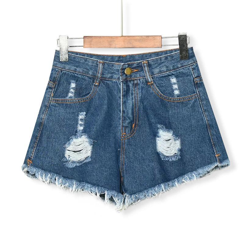 4 Haute Mode Hot Courte Minces Élastiques Denim Couleurs Été 2018 Sexy Femmes Jeans Taille Shorts CxhrdstQ
