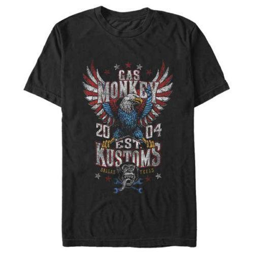 Gas 2019 Dallas Texas Fast N Loud T-shirt Monkey T-shirts