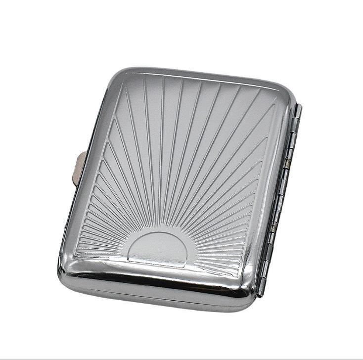 Коробка высокая-класс металла сигареты 16 автоматическая коробка сигареты Моды