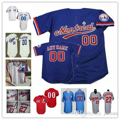4431e1927 2019 Custom 1982 Montreal Expos Mens Womens Youth Kid White Pinstripe Royal  Blue Baseball Jersey Size S 5XL From Jamas, $32.49 | DHgate.Com