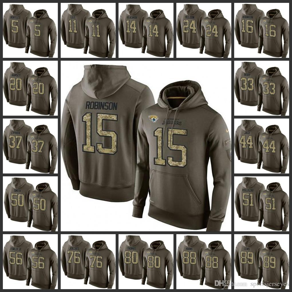 74c3f414bcd7f1 New Styles Jacksonville Jaguars Embroidery Man  5 Blake Bortles 15 Allen  Robinson 20 Jalen Ramsey Pullover Hoodie Online with  35.51 Piece on  Jerseysus s ...