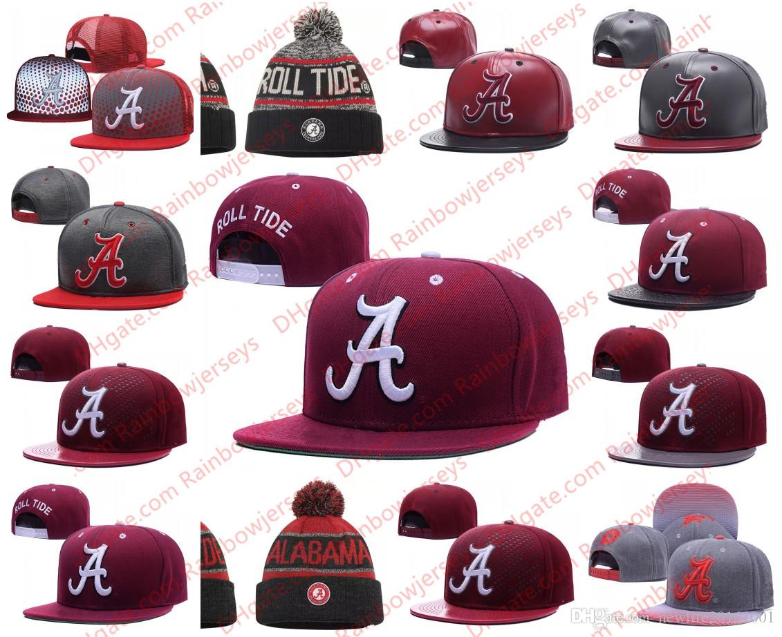 ca46644ae29 2019 NCAA Alabama Crimson Tide Snapback Caps 2018 New College Adjustable  Hats All University Caps Gray Back Red One Sze For All From  Newlife20161001
