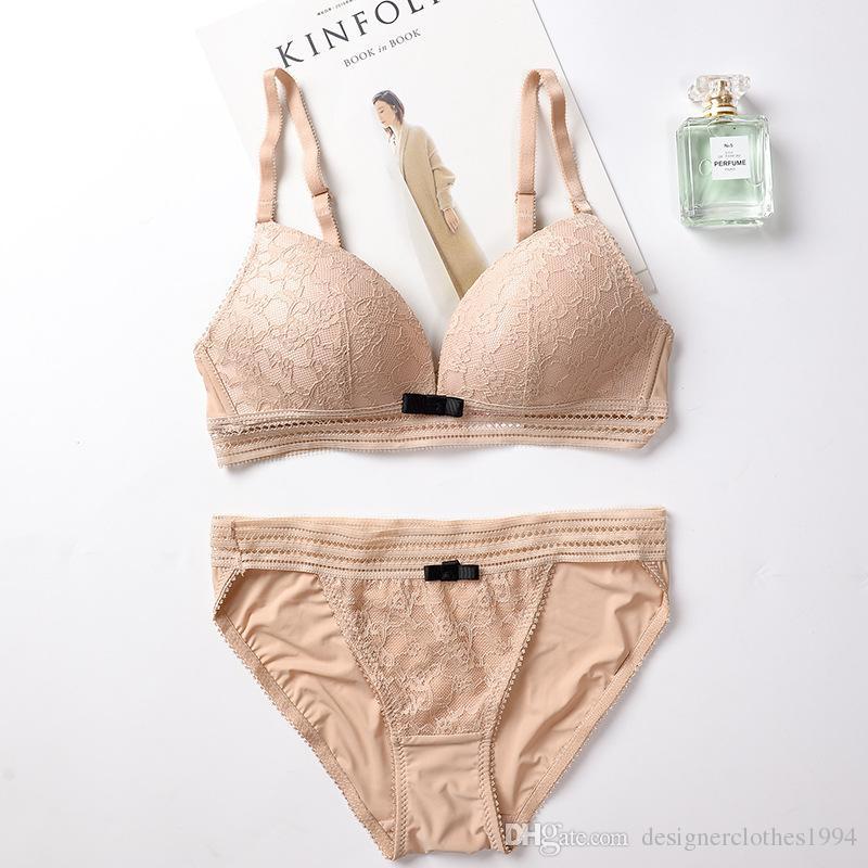 3836d8474e Two Pieces Sexy Luxury Underwear Bras Sets Designer Womens Swimwear Bikini  Sports Bra Shorts Suit For Girls 14 Online with  21.86 Piece on ...