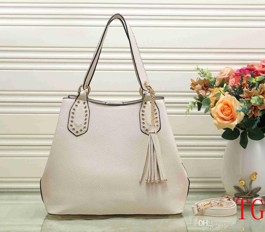Luxury Brand Pu Leather Handbag Bolsa Feminina Luxury Handbags Women Bags  Designer Sac A Main Bolsos Shoulder Bag 2019 Fashion Big Tote Over The  Shoulder ... fb09c8351b125