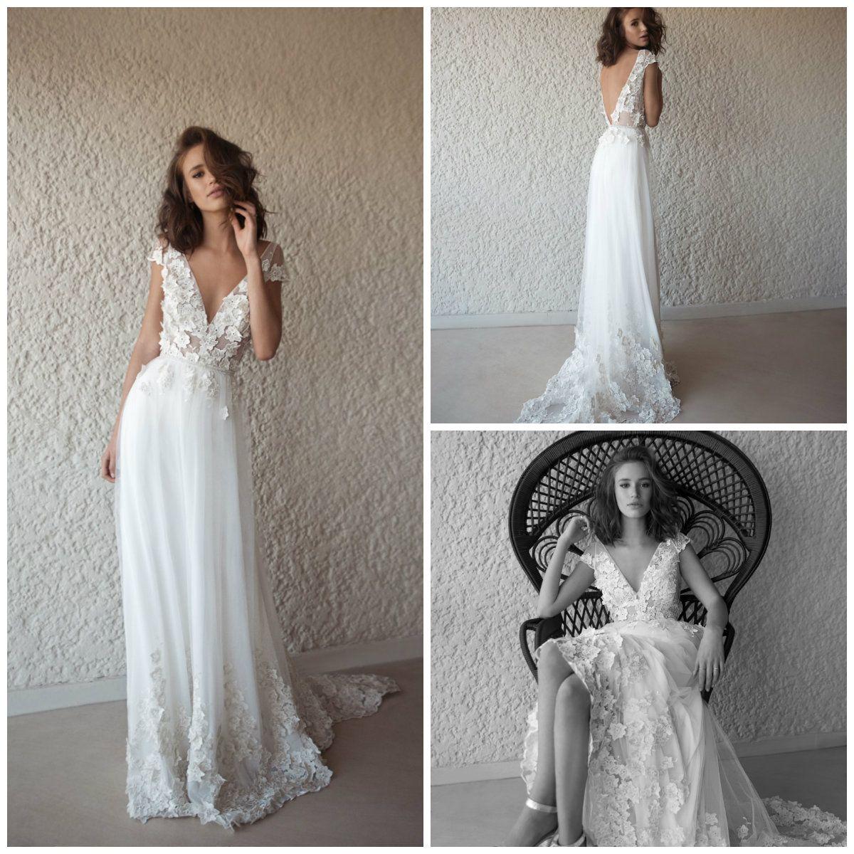 Vestido boda jardin 2019