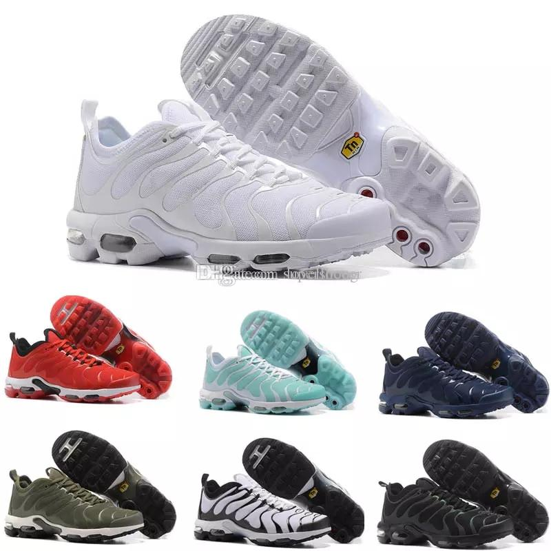 pretty nice 1b67c 45bd8 Compre Nike Air Max TN Plus Vapormax Airmax 2018 Top TN Zapatos Casuales  Para Hombre Más Baratos Más TN Ultra Sports TN Requin Sneakers Shoes 36 45  A  76.15 ...