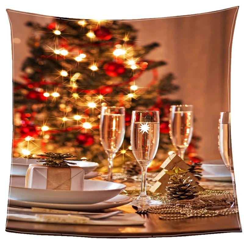 nodren simple fleece blanket christmas night decoration with candle light dinner net red throw blanket teal fleece blanket holiday throw blankets from - Christmas Fleece
