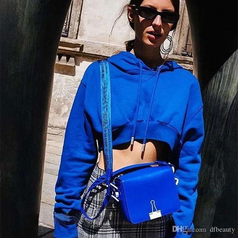 2018 primavera modelos de explosão de comércio exterior das mulheres nova colheita solta top camisola do hoodie exposto camisa umbigo atacado