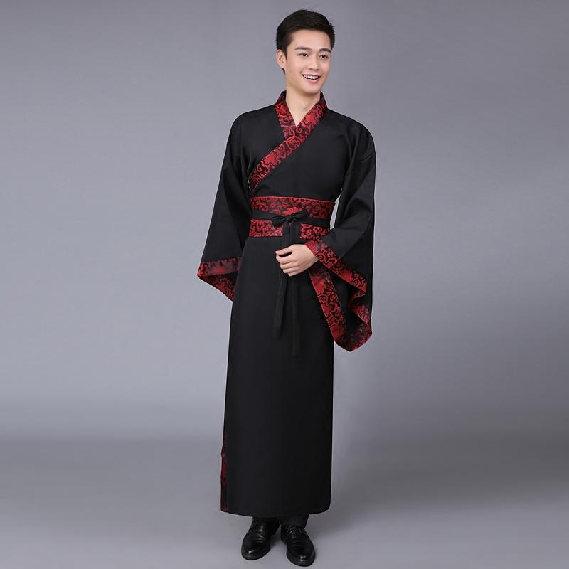 Men Chinese Traditional Costume for Stage Performance Male Ancient Hanfu Clothing Party Cosplay National Tang Robe Dress 89