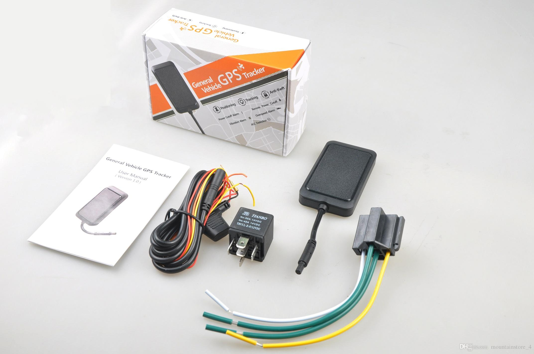 New High Quality Mini Real Time Vehicle Gps Tracker,Remote cut-off ,ACC  detection,Vehicle battery protection,No Monthly Fee