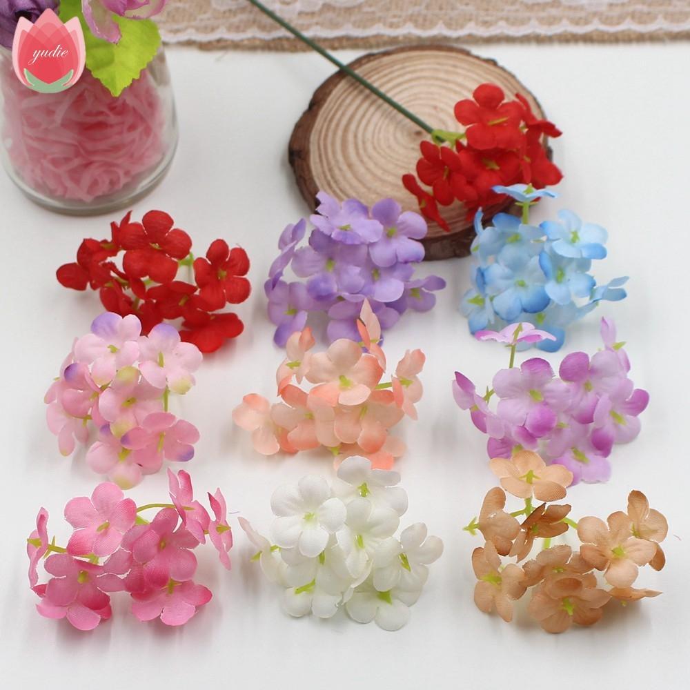 Acheter Soie Hortensia Fleur Artificielle Pour Mariage Maison Balcon