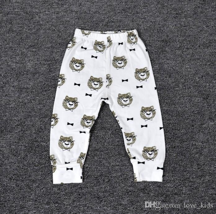 11 Design kids pp pants fashion baby toddlers boy's girl's animal raccoon panda tent wheels geometric figure pants trousers Leggings