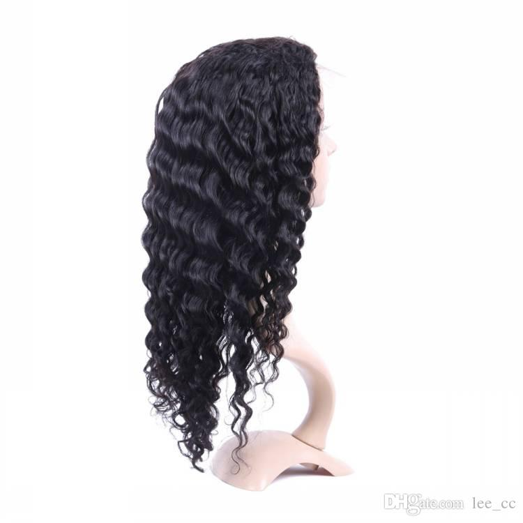 Pre Plucked Full Lace Human Hair Wigs For Women With Baby Hair Brazilian Virgin Hair Wigs Curly Full Lace Wig