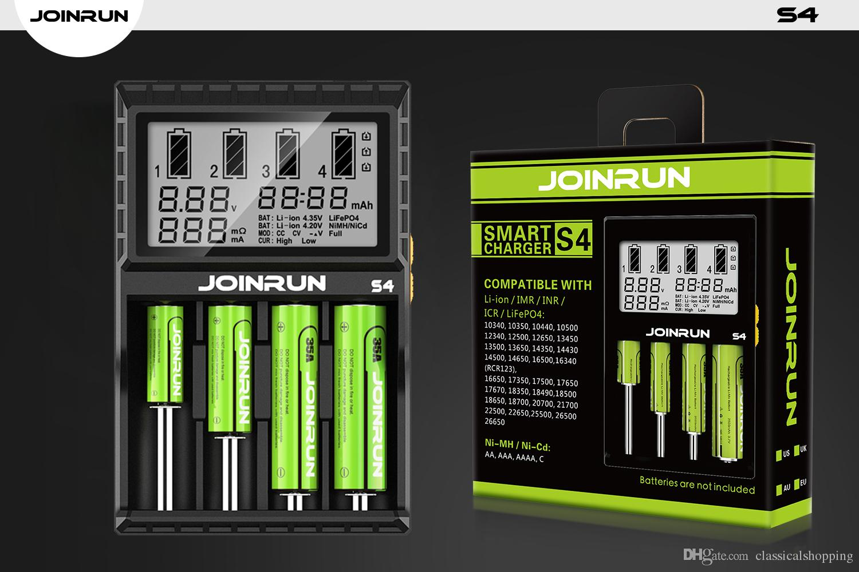 Lcd Display Joinrun 18650 18500 Battery Charger For Li Ion Ni Mh Desulphation Progress Monitor Cd 10440 14500 16340 26650 Aa Aaa Aaaa 37v 12v