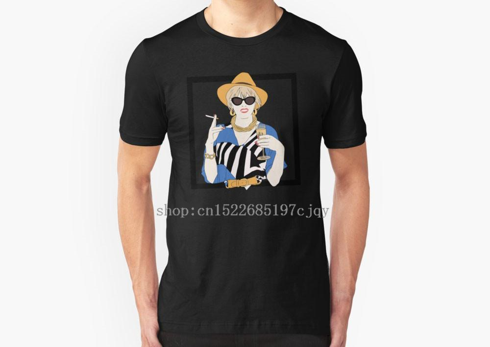 c2cfc7065 2018 New Fashion Patsy Stone Abfab aperitif absolutely Fabulous Men's Short  Sleeve Cotton T shirt O-neck Tee shirt