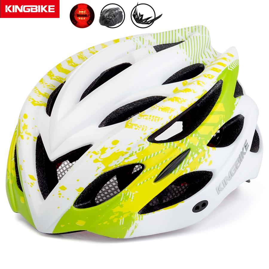 2a6f53a8cc4 2019 BASECAMP Cycling Helmet Women Men Bike Bicycle Helmet Road Mountain  With Visor MTB Bike Security Taillight Ciclismo From Towork, $28.73 |  DHgate.Com