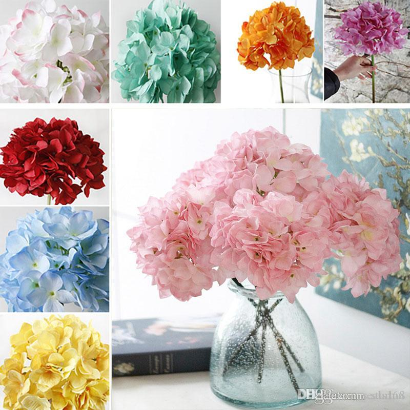 Online cheap dhl ship artificial hydrangea silk flowers wedding online cheap dhl ship artificial hydrangea silk flowers wedding decorations bridal hand flower bridesmaids party decorative wreaths flowers wx9 402 by mightylinksfo