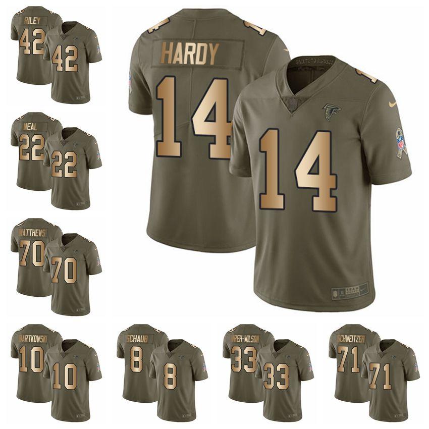 06a8d472 discount code for nike falcons 2 matt ryan white gold elite jersey ...