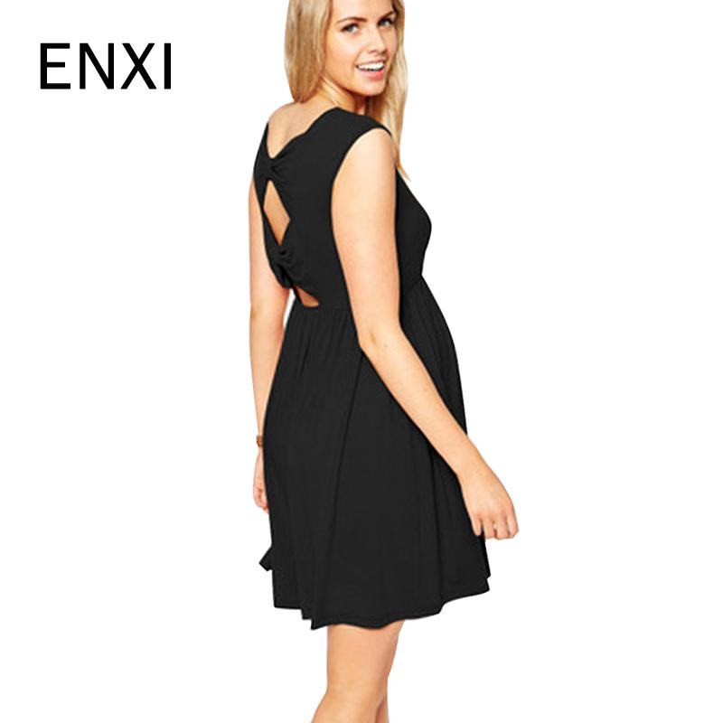 2018 ENXI Maternity Clothing O Neck Evening Dresses For Pregnant Women High  Quality Hollow Pregnancy Party Dress Lady From Sugarher 678af438d37f