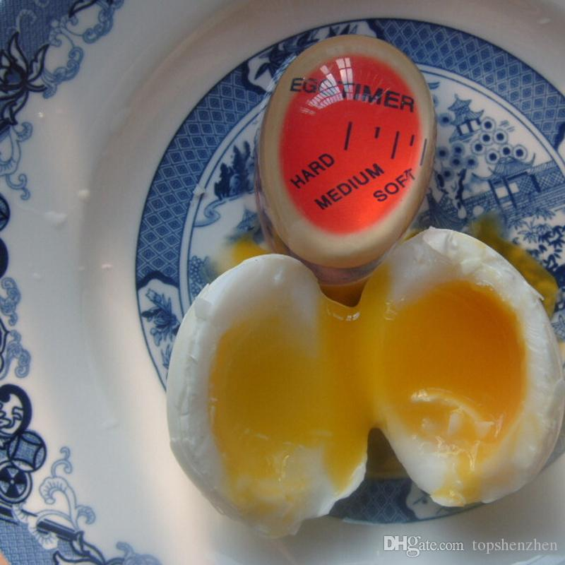Ovo temporizador cozinha suprimentos ovo perfeito mudança de cor ovos cozidos perfeitos cozinhar ajudante gota shippping