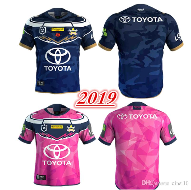 new concept 0ddda d0377 2019 NRL QUEENSLAND COWBOYS JERSEYS size S-3XL BRISBANE BRONCOS SOUTH  SYDNEY RABBITOHS SYDNEY ROOSTERS 2018 ST GEORGE DRAGONS rugby