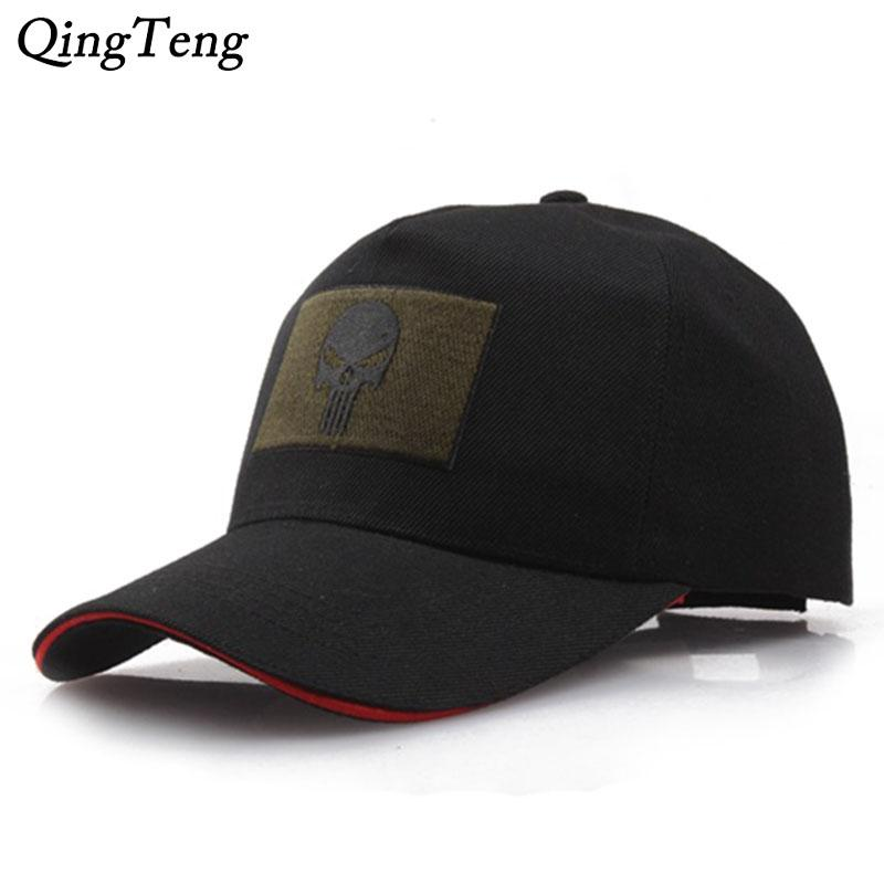 Black Men Army Baseball Cap Skull Logo Tactical Cap Seal Team Adjusted  Snapback Hat Us Marine Corps Hats For Women Customized Hats Custom Hat From  Shanjumou ... 265a6bf7f