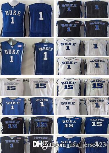 100e227ed36 duke blue devils 15 jahlil okafor blue jersey