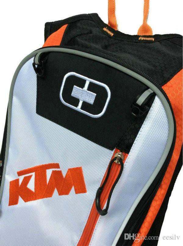 Motosiklet Motokros KTM Hidrasyon paketi yeni stil çanta Seyahat çantaları yarış paketleri Bisiklet kask paketi BB-KTM-06 treavel su sırt çantası