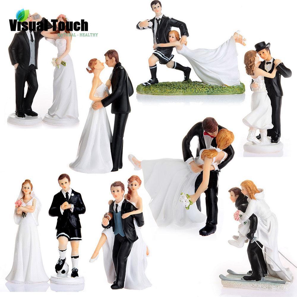 Grosshandel Grosshandel Romantische Braut Und Brautigam Topper Paar