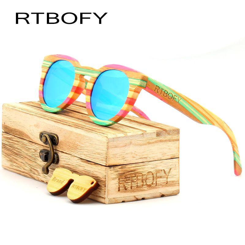 01f925f351d RTBOFY 2017 Wood Sunglasses Women Top Quality Polarized Cat Eye Sunglasses  Brand Designer Color Ray UV400 Sun Glasses Eyewear D18101302 Reading Glasses  ...