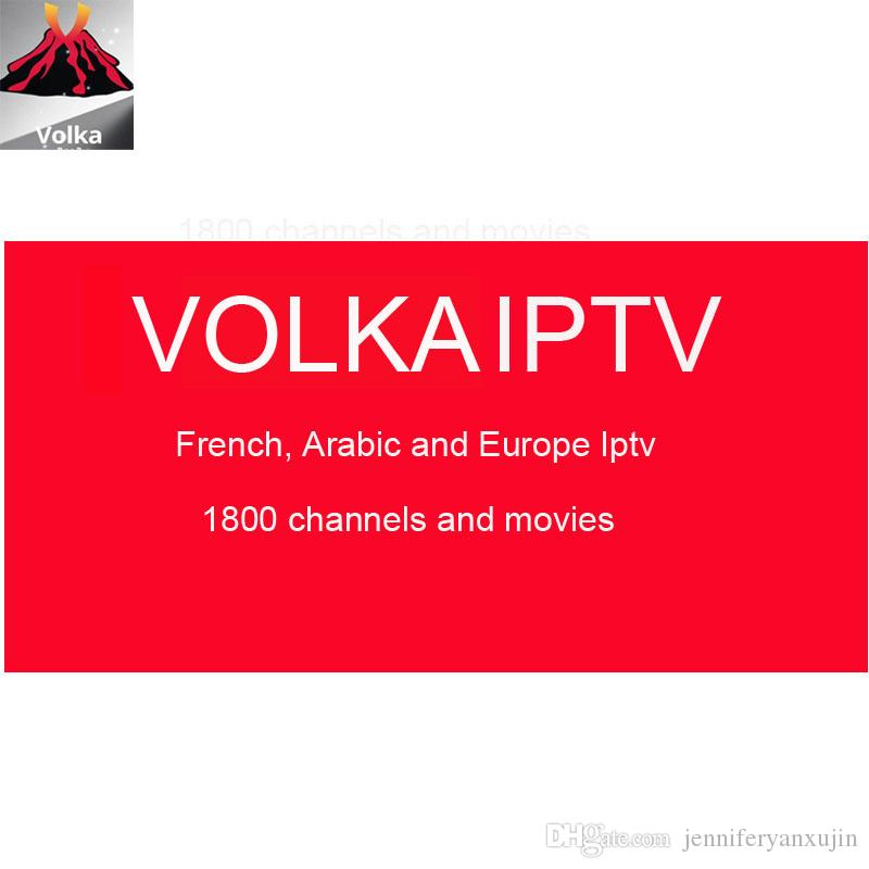 French Arabic Spanish Volka IPTV Subscription Algeria 1800 Channel 2000  Movie Mag250 M3U For Fire Tv Stick Apply World Cup 2018 Media Player Hard