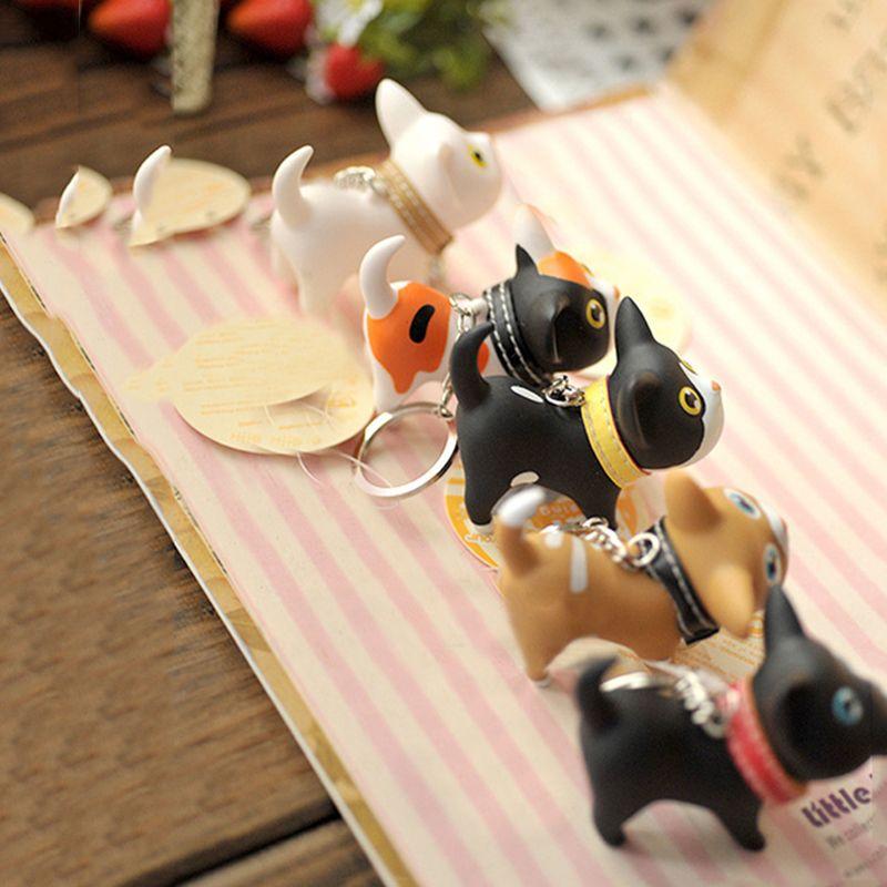 Portachiavi portachiavi animali bambole portachiavi multicolore simpatico portachiavi piccolo gatto regalo bello i bambini gioielli accessori